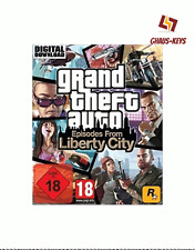 Grand Theft Auto Episodes from Liberty City Steam Key Pc Game Download Code