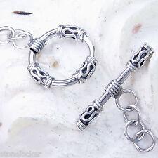 TG09 Toggle  26mm SILBER 925 Verschluss f. Kette u. Armband silver clasp 26mm
