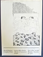 David Hockney Poster Reprint  Galarie Mikro-Two Young Men in Bed (Gay Interest)