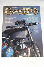Classic Bike February 1986/Drixton Honda Twin/350 AJS Big Port/Mann BSA Gold Sta