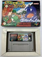 Super Mario World 2 Yoshi's Island Snes Super Nintendo PAL Version Originale