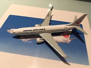 Schuco 737-800 Japan Airlines Rare 1/600
