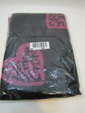 NWT Victoria's Secret Black and Pink Blanket