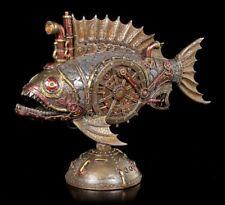 Steampunk Piranha Figurine avec LED - Veronese Poisson Sous-marin Déco Fantaisie
