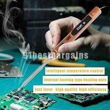 Mini Portable Digital Soldering Iron Kit Tip Interface TS100 TS-I/TS-BC2 65W
