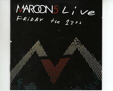 CD MAROON 5	live - Friday the 13th	EX+ CD + DVD (A2861)