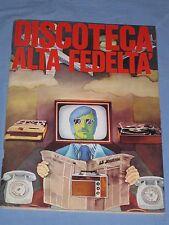 Rivista mensile DISCOTECA ALTA FEDELTA' n° 119 aprile 1972 (E2)