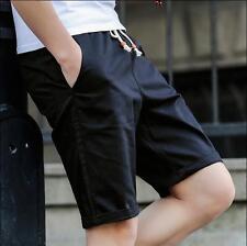 70 %Cotton Men's Casual Pants Baggy Shorts Pockets Cargo Short Pants Trousers