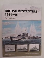 Osprey New Vanguard 246 - British Destroyers 1939–45: Pre-War Classes