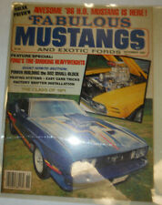 Fabulous Mustangs Magazine Ford Heavyweights November 1985 022615r2