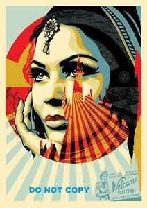 A4 GLOSSY PHOTO SHEPARD FAIREY USA TARGET EXCEPTIONS VISITORS PRINT POSTER #5