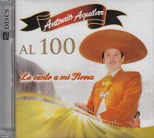 Antonio Aguilar Al 100 Le Canto A Mi Tierra 2CD  Nuevo Sealed