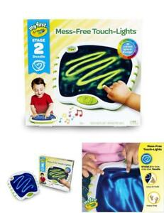 My First Crayola Touch Lights, Musical Doodle Board, Toddler Toy, Mess Free Gift