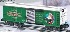 American Flyer 6-48355 2004 Christmas Boxcar Holiday S gauge Lines Santa Toys