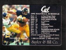 California Golden Bears--1995 Football Magnet Schedule