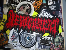 Devourment Backpatch Patch Shape Death Metal Guttural Secrete Coprocephalic