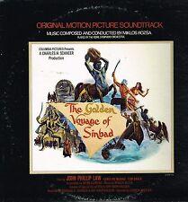 "LP 12"" 30cms: BO du film: the golden voyage of Sinbad: miklos rozsa. UA. D2"