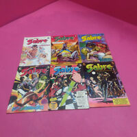 ECLIPSE SABRE COMICS *SEE DESCRIPTION* (120)