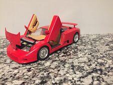 1:18 scale model by Bburago 1991 Bugatti Red