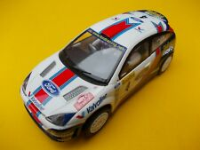 SCALEXTRIC C2393 FORD FOCUS MOVISTAR IN NEAR MINT CONDITION WITH FRONT LIGHTS
