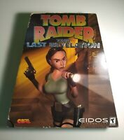 Tomb Raider The Last Revelation PC Video Game Core Eidos Interactive BIG BOX CIB