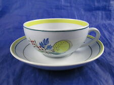 Vintage Arabia Finland Windflower Tea Cup and Saucer Plate Set