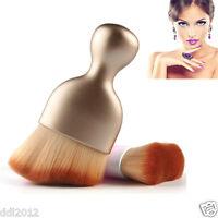Pro Shadow Contour Makeup Brush Fan Powder Foundation Blush Brush Cosmetic Tool