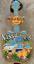 Hard Rock Cafe NASSAU BAHAMAS 2018 City Tee T-Shirt GUITAR Series V18 PIN #98529