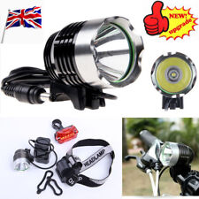 Rechargeable 4×18650 Batter 2 in 1 Headlamp bike Light 1800LM  CREE XM-L T6 LED