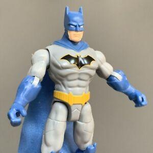 "DC Comics The Caped Crusader 2020 Series Batman Blue & Grey 4"" Action Figure Toy"