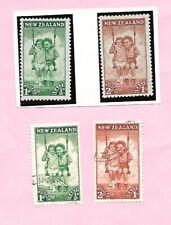 NEW ZEALAND 1942. Children's Health Issue Stamp Set 2 UMM/VFU