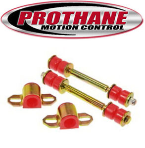 Prothane 14-1102 23mm Sway Bar Bushing/Link Kit for 86.5-97 Nissan 2WD Hardbody