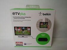 Belkin @TV Plus WiFi Mobile TV for Smartphones & Tablets Place Shift TV Digi Box