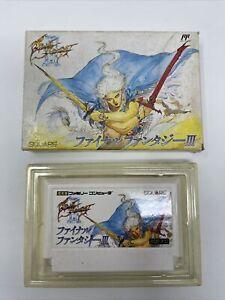Final Fantasy III 3 Famicom Nintendo Game - Boxed - UK SELLER