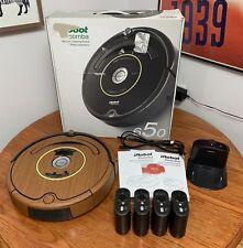 iRobot Roomba 650 Robot Vacuum w/ 4 Virtual Walls (Wood Trim) Like New Condition
