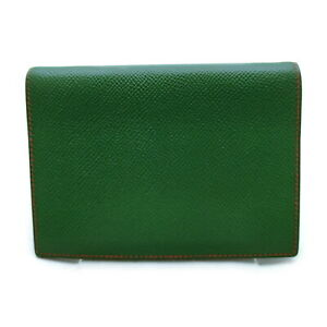 Hermes Diary Cover  Greens Leather 1607953
