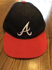 Atlanta Braves Adjustable Snapback Hat Sponsored: Coca Cola & bp