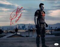 JASON DAVID FRANK Signed BLOODSHOT 11x14 Photo In Person Autograph JSA COA Cert