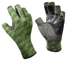 BUFF Angler Performance Handgear gloves XL/XXL 11/12 Aquatic Suede Sage SALE!!