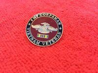 USMC/USN FMF CORPSMAN VIETNAM VETERAN HAT PIN