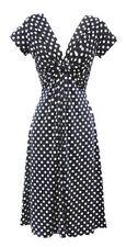 Robes vintage en polyester pour femme Taille 36