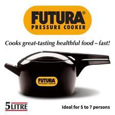 Futura Hawkins 5-Litre Hard Anodized Induction Compatible Pressure Cooker, Small