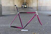 TVT 92 Integral Carbon Rennrad / Pink / 49 cm/ 2.077g /Vintage Frame Fork Ofmega