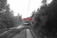 PHOTO  1993 NORWAY OSLO TRAM HOLMENKOLLEN TRAM NO 1314