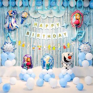Frozen Party Supplies Decorations Elsa Anna Olaf Balloons Frozen Party Balloons