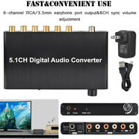 5.1 CH Audio Extractor 4K 3D Digital Audio Decoder Converter Adapter Switch