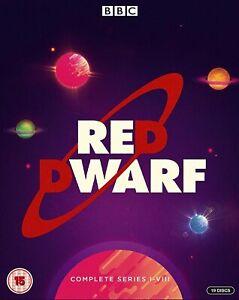 Red Dwarf The Complete Series I - VIII Season 1 2 3 4 5 6 7 8 Region B Blu-ray