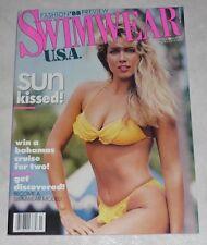 SWIMWEAR USA Magazine March 1988 Oversized Version! Venus Swimsuits Catalog!