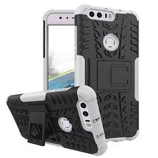 Etui Hybride 2 pièces extérieur blanc pour Huawei Honor 8 étui housse coque Neuf