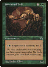 Magic MTG Tradingcard Tempest 1997 Skyshroud Troll